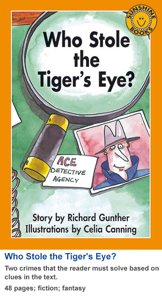Who Stole the Tiger's Eye?